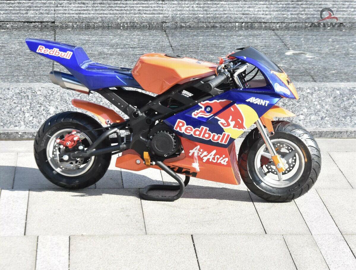 KTM Redbull - MINI MOTO POCKET BIKE 50cc 2 stroke