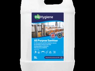 Buy BioHygiene All Purpose Sanitiser 5L in London